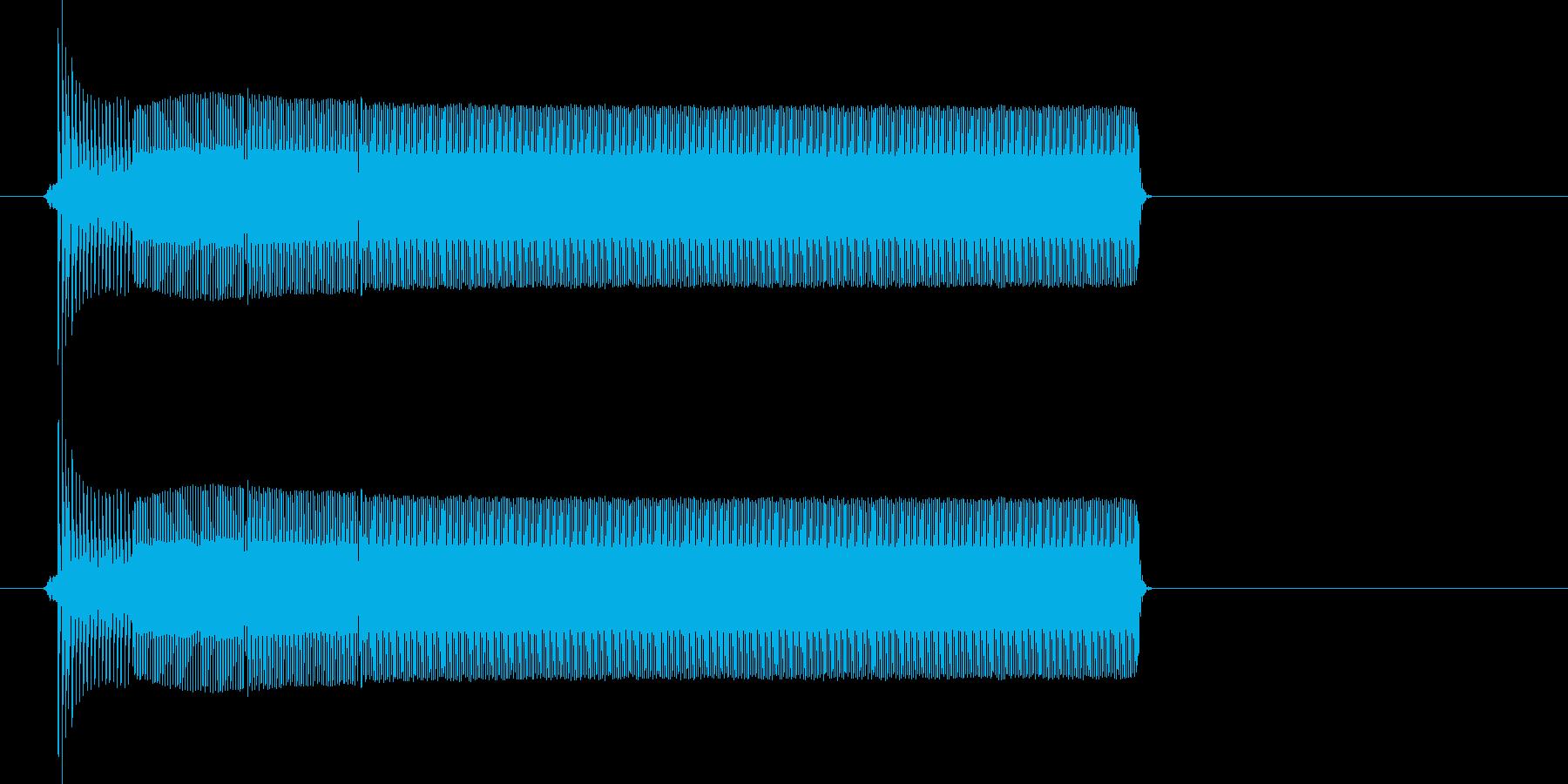 ポロリー(電子音、決定、アプリ)の再生済みの波形