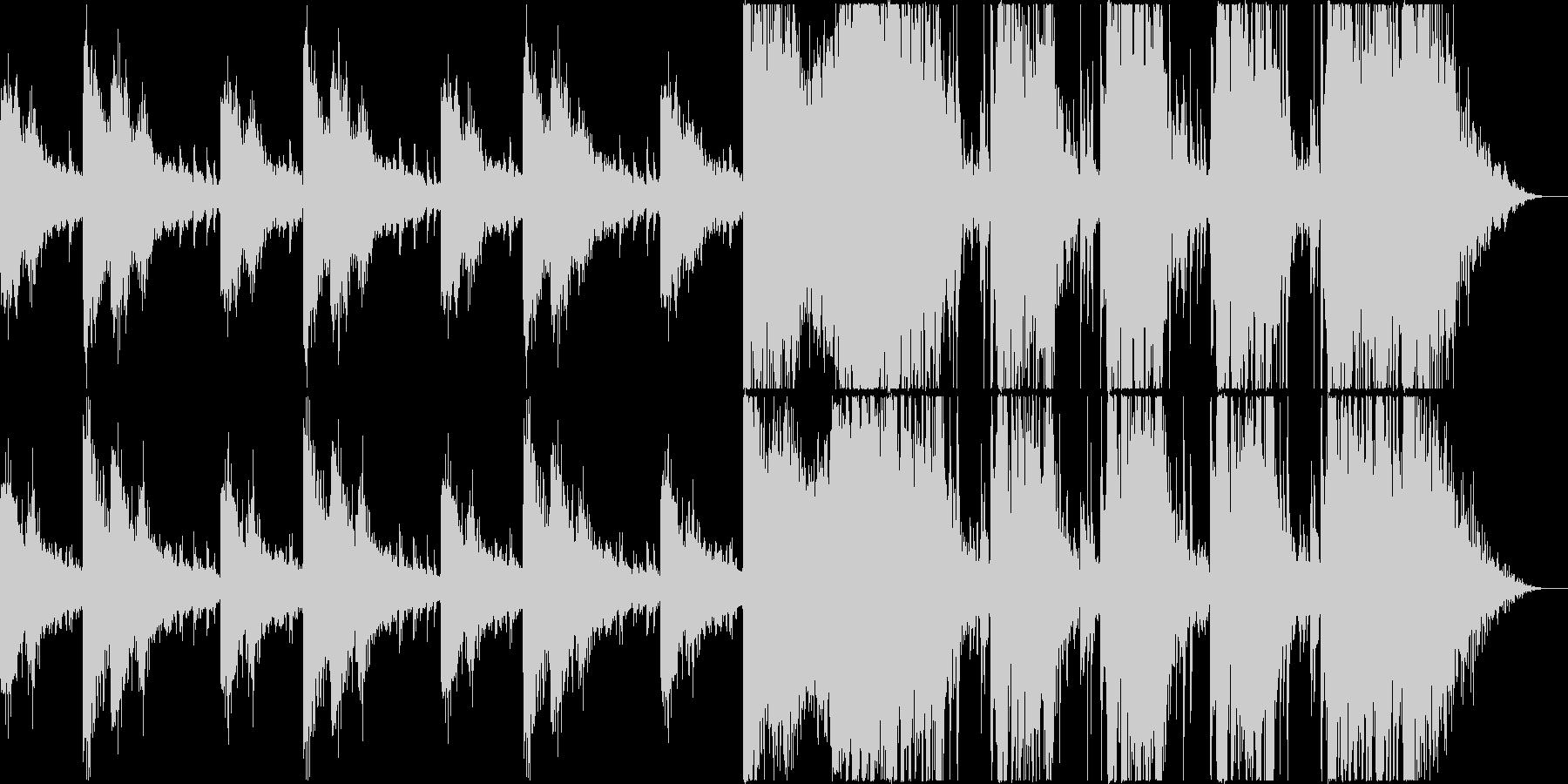 トレーラーetc / *リズム中心の未再生の波形