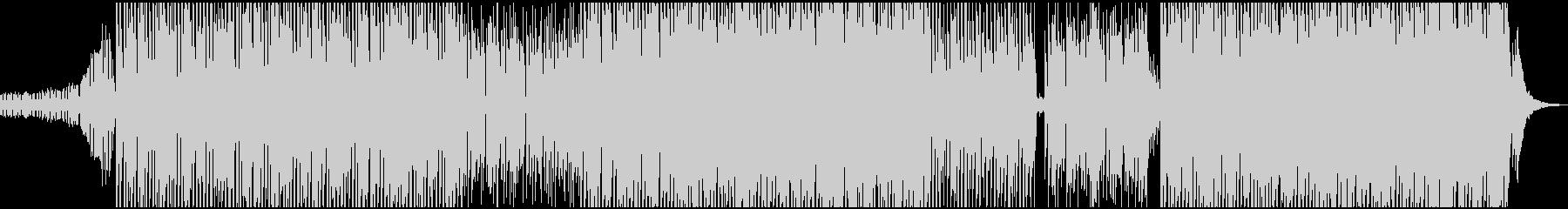 孤独な夜をイメージしたアンニュイなBGMの未再生の波形