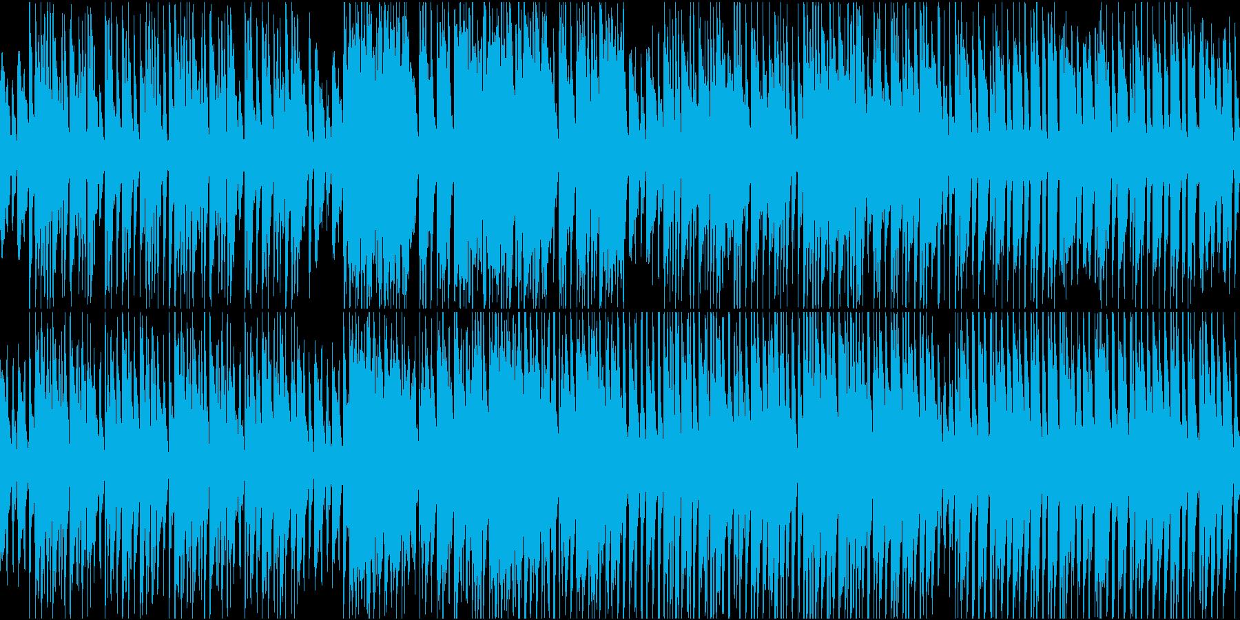 【ループ】街並みBGM/ゆったり・日常の再生済みの波形