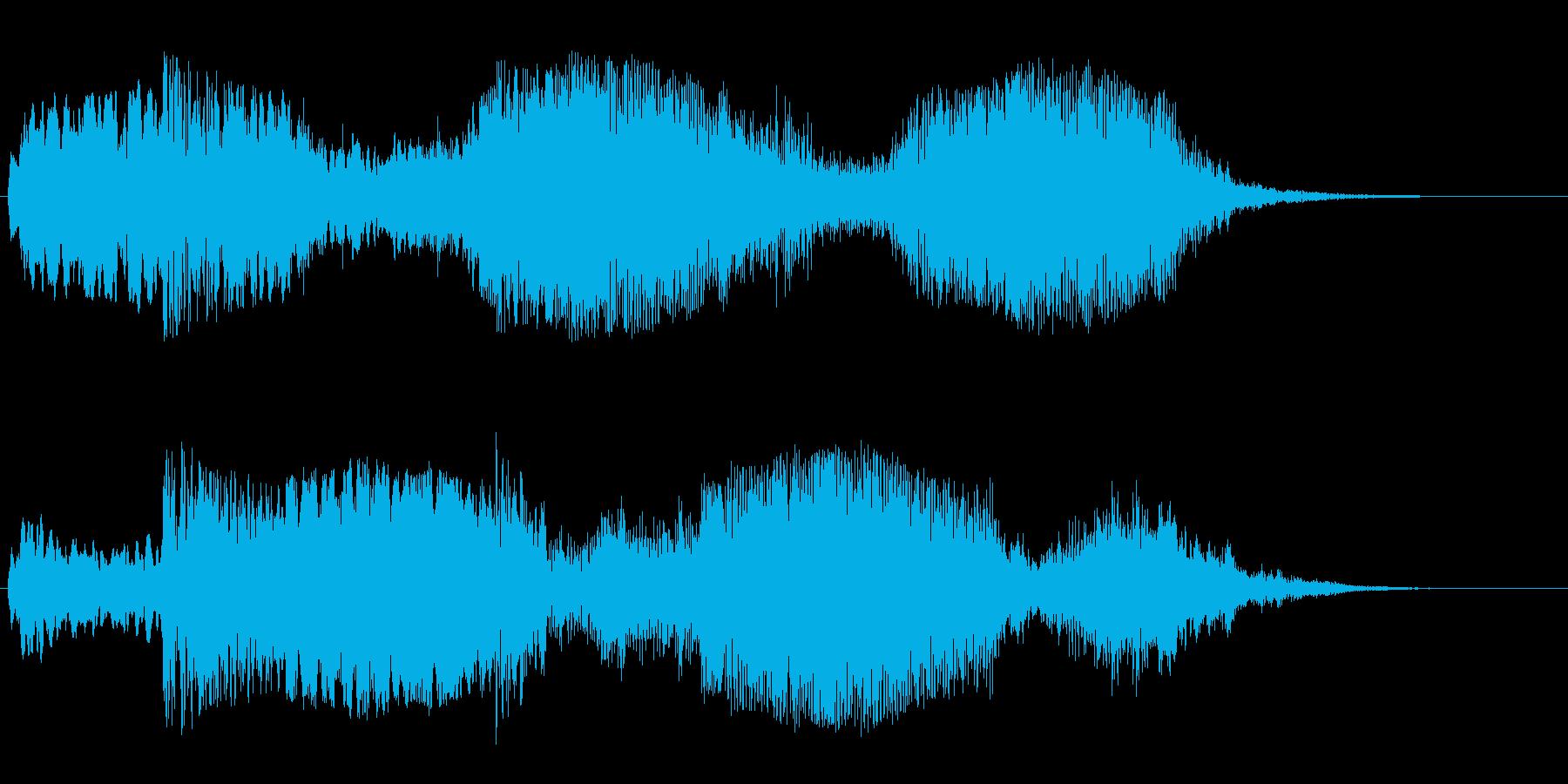 不思議な宇宙空間(星、惑星)の再生済みの波形