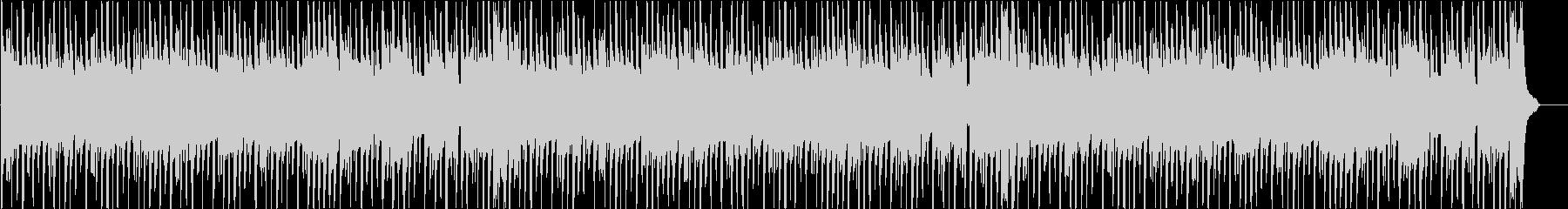 コミカルで陽気なブルースファンクの未再生の波形