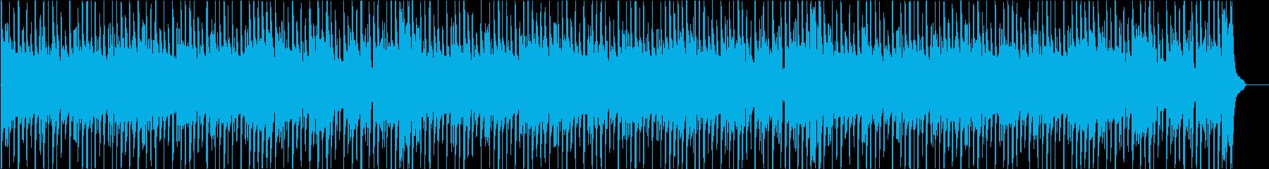コミカルで陽気なブルースファンクの再生済みの波形