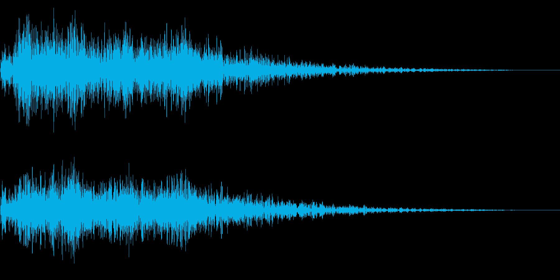 場面転換 勇壮 ティンパニ ストリングスの再生済みの波形