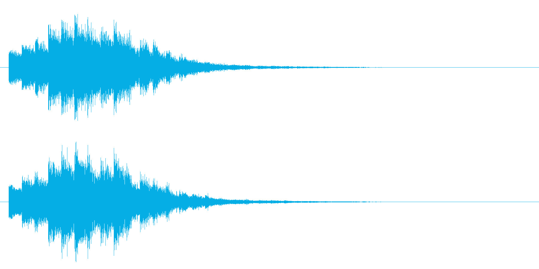 回復/キラキラ/魔法の再生済みの波形