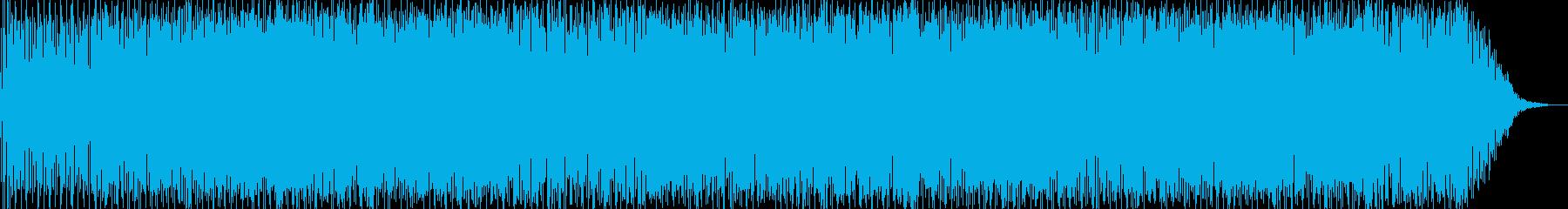 スキャットソウルジャズの再生済みの波形