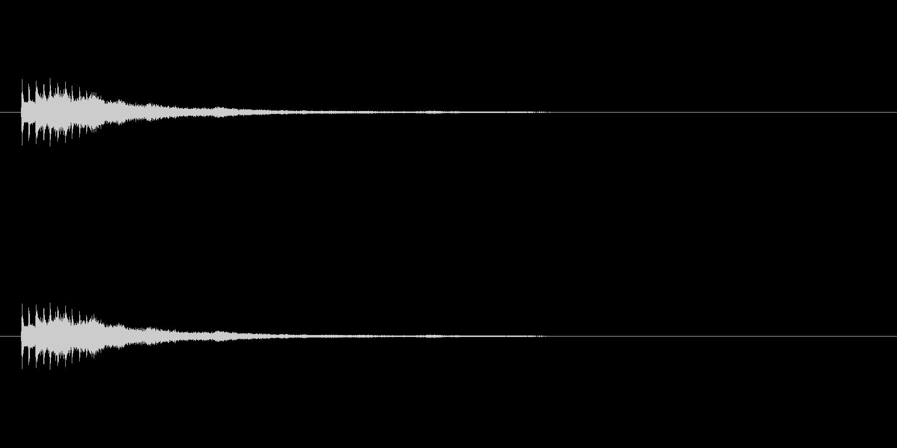 【ショートブリッジ15-4】の未再生の波形