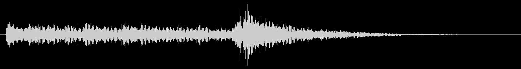 生音ギターのジングル/サウンドロゴの未再生の波形