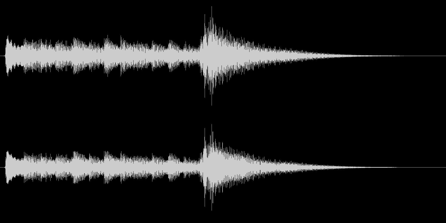 アコギ生音のジングル/おしゃれ5の未再生の波形