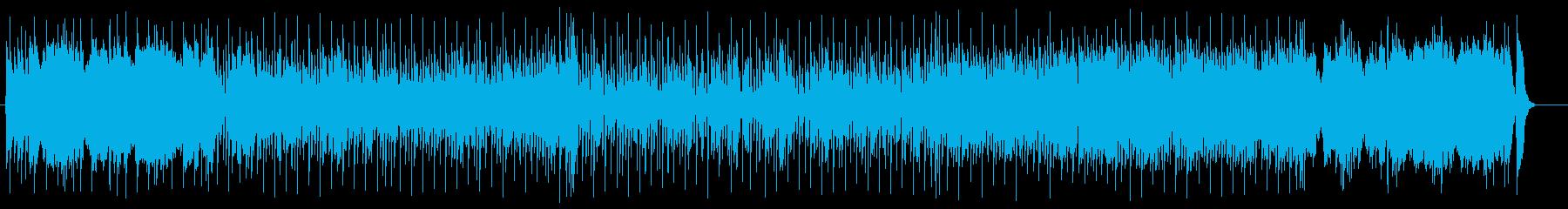変拍子が楽しいシンセミュージックの再生済みの波形
