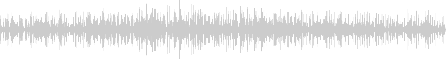 ジャズソロピアノ(ループ仕様)の未再生の波形