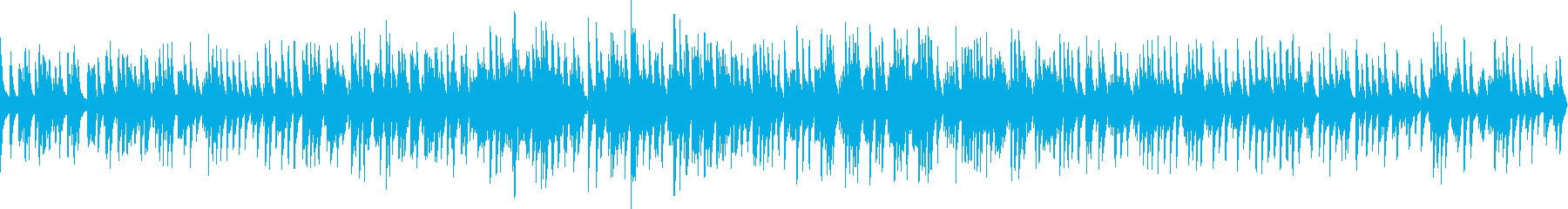 ジャズソロピアノ(ループ仕様)の再生済みの波形