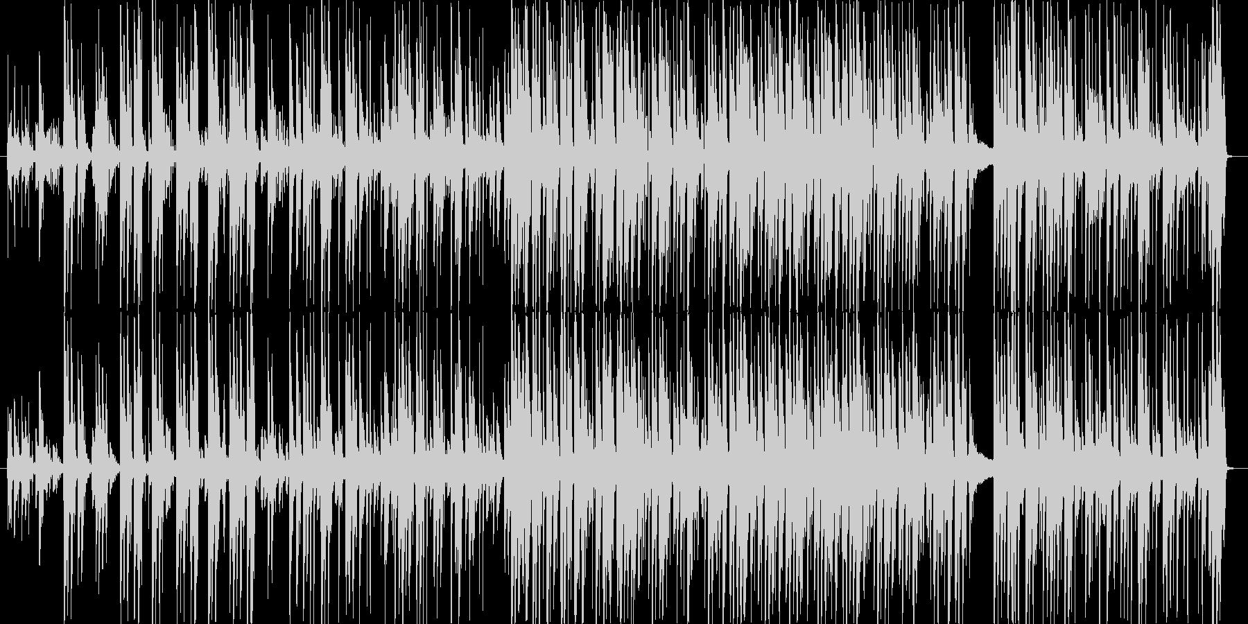 楽しげで軽快なCM向けストリングジャズの未再生の波形