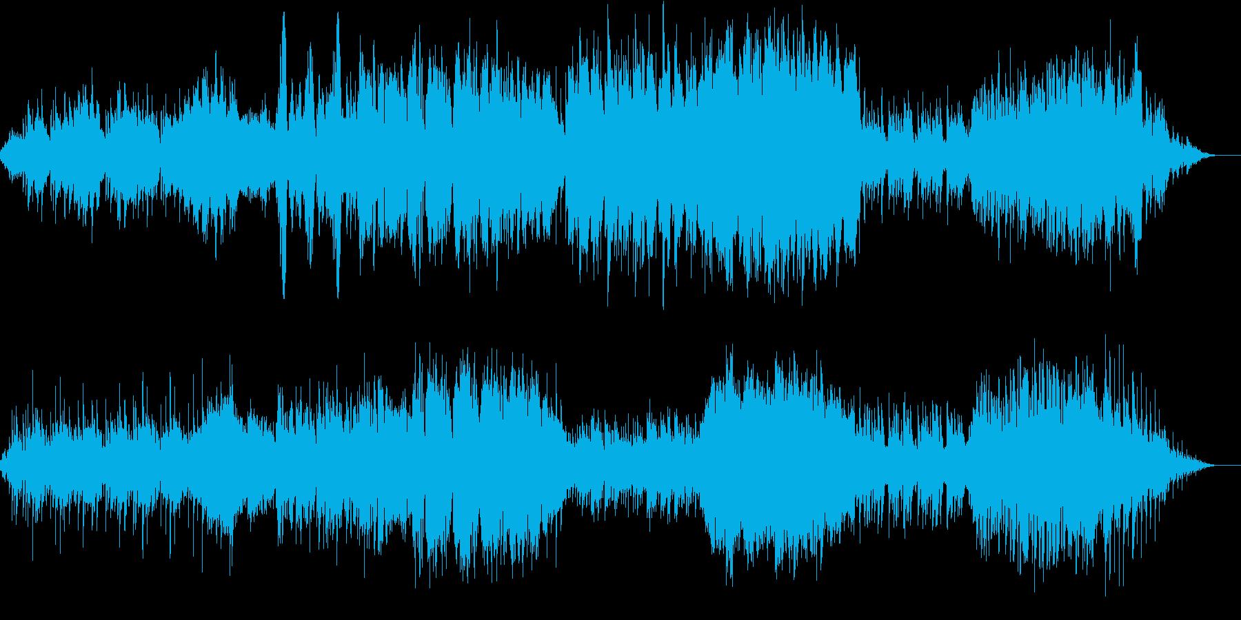 ファンタジー映画のオープニングをイメー…の再生済みの波形