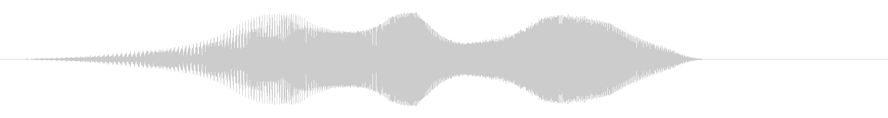 ピヤァァ(かわいい)の未再生の波形