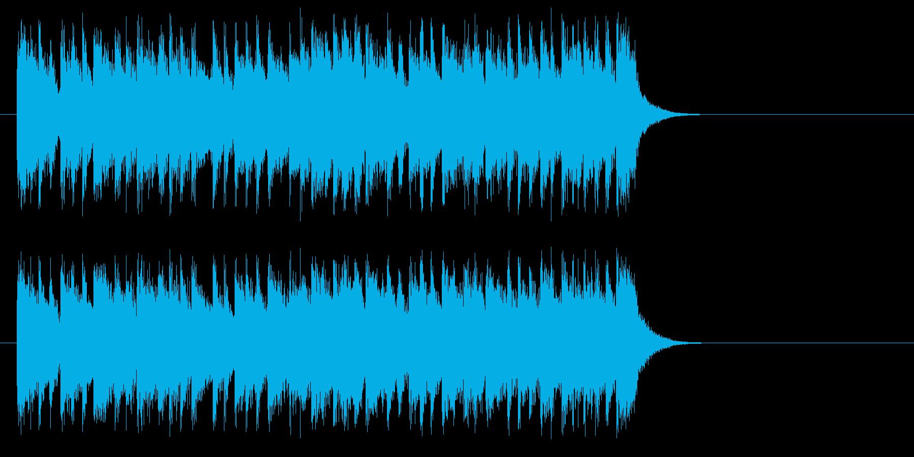 目覚め爽やかモーニング・ポップス風の再生済みの波形