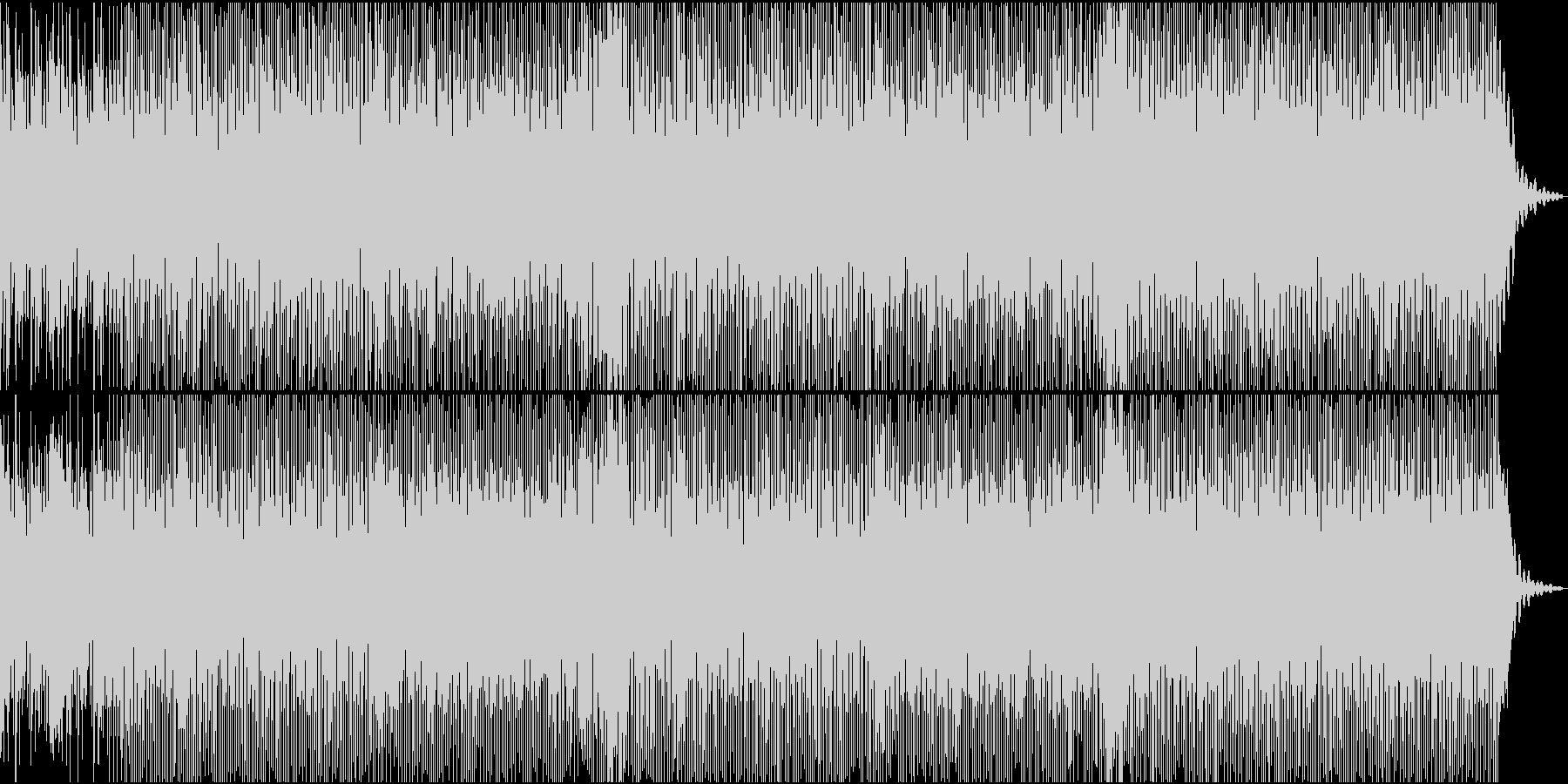 ディスコに憧れて作った曲の未再生の波形