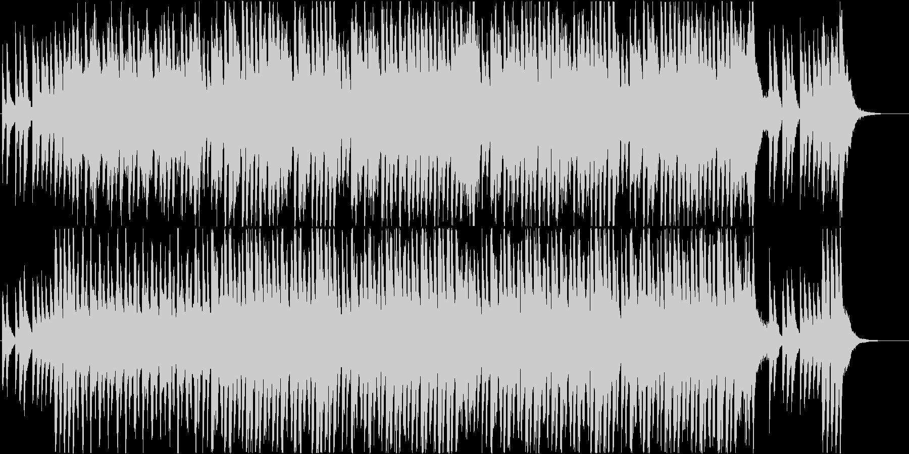 明るいコミカルなオーケストラBGM♪の未再生の波形