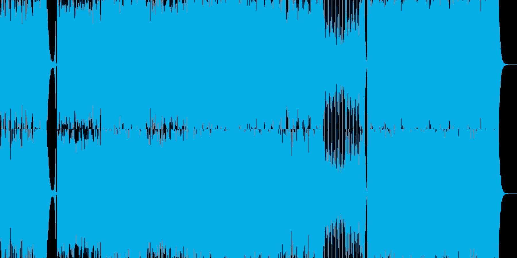 結婚行進曲(メンデルスゾーン)テクノの再生済みの波形