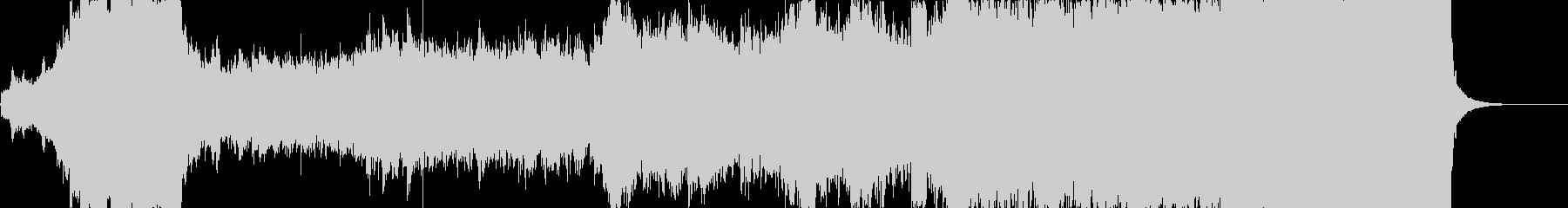 感動的なオーケストラファンタジーの未再生の波形