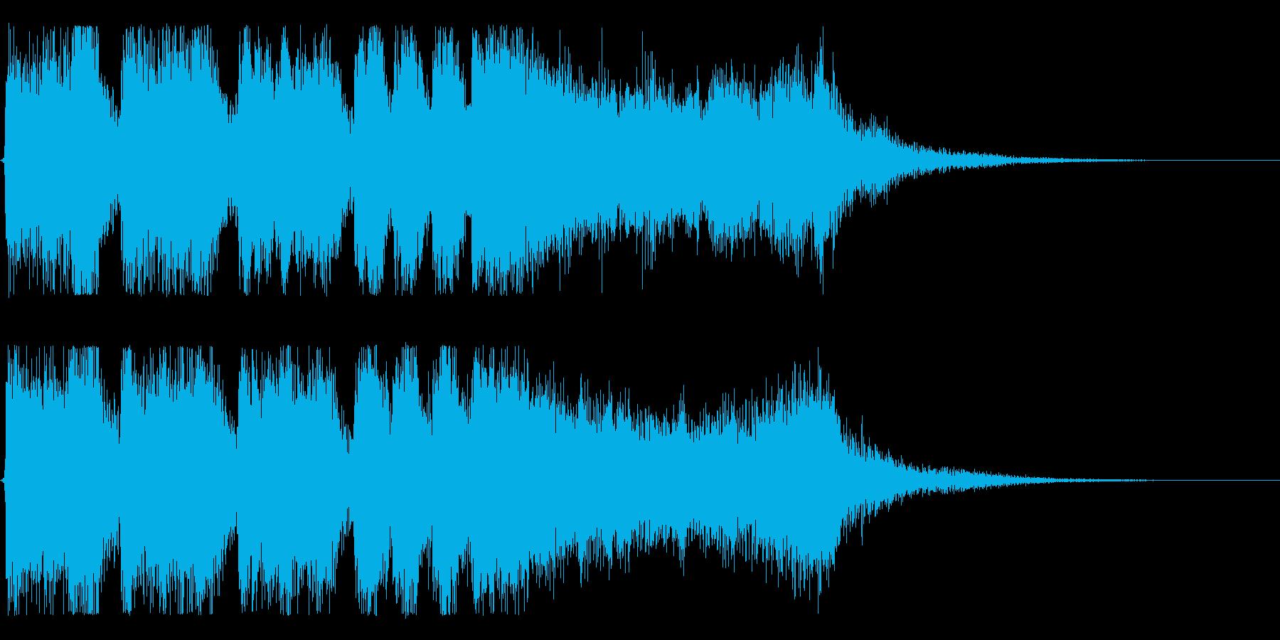 【大当たり!2】の再生済みの波形