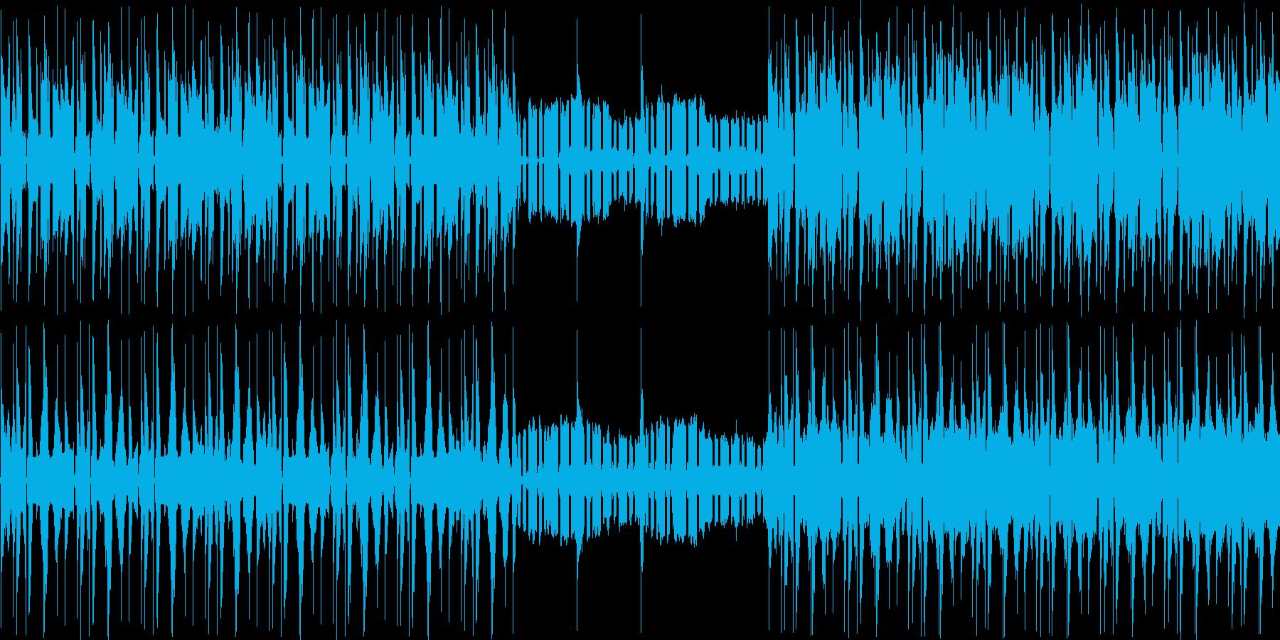 【エレクトロニカ日常系BGMほのぼの】の再生済みの波形