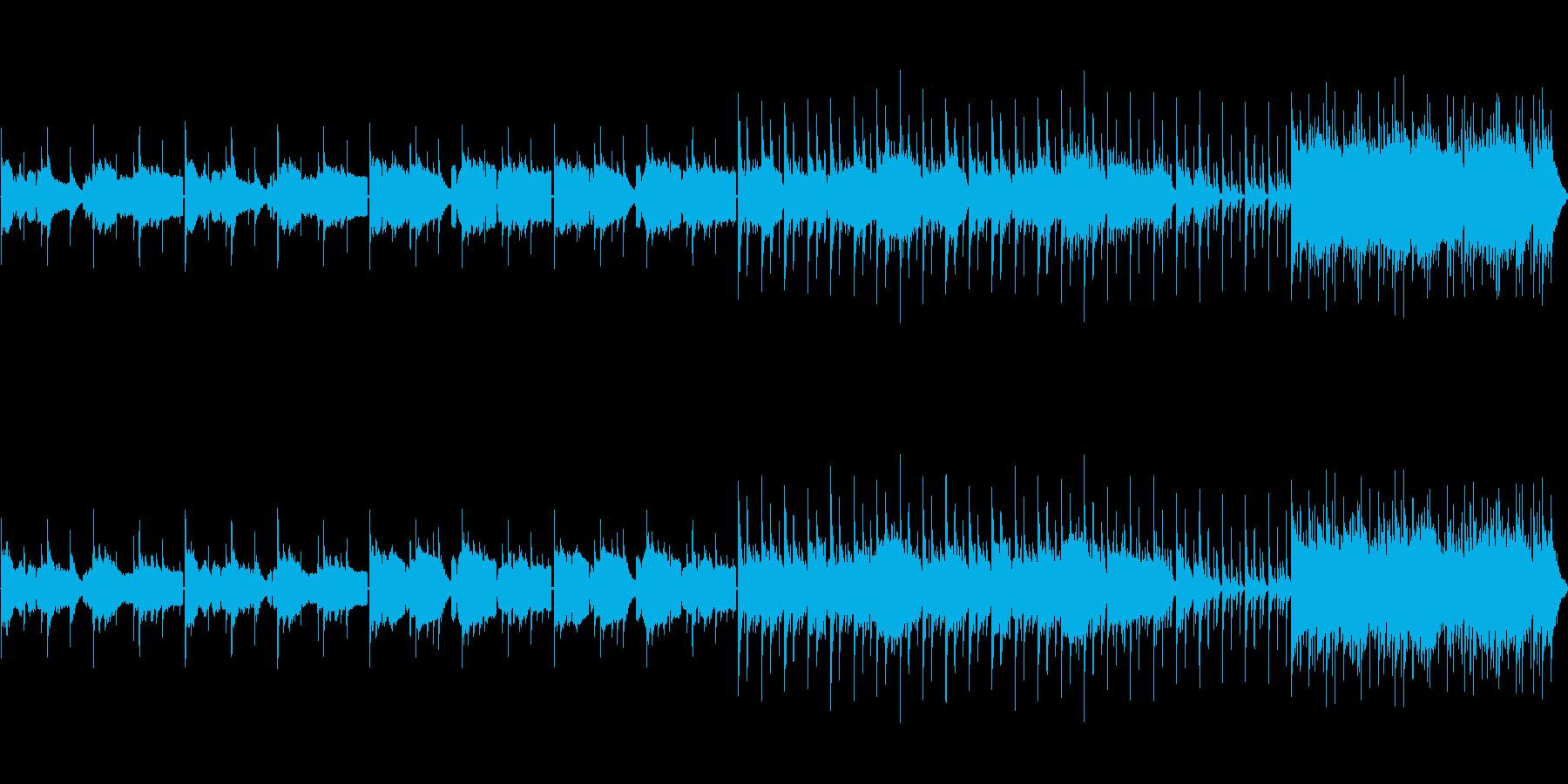 昔話風和風 村、琴尺八の再生済みの波形