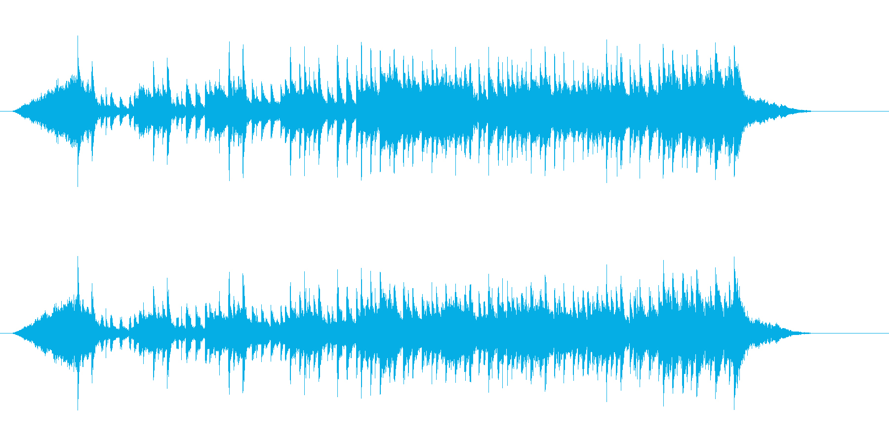 官能的マイナー調ニューミュージックの再生済みの波形
