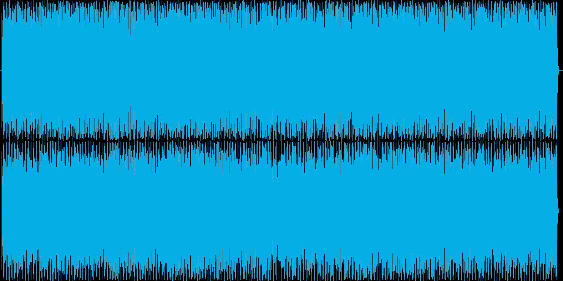 にぎやかで楽しいラテンサウンドの再生済みの波形