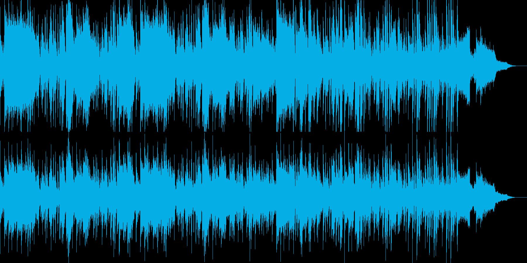 爽やかで明るい系ジャズの再生済みの波形