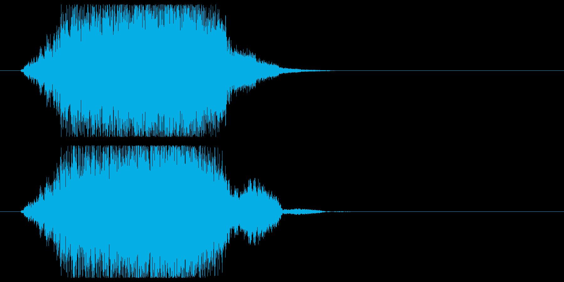 上昇_パワーアップの再生済みの波形