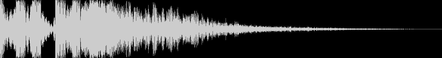 スクラッチ/DJの効果音!11の未再生の波形