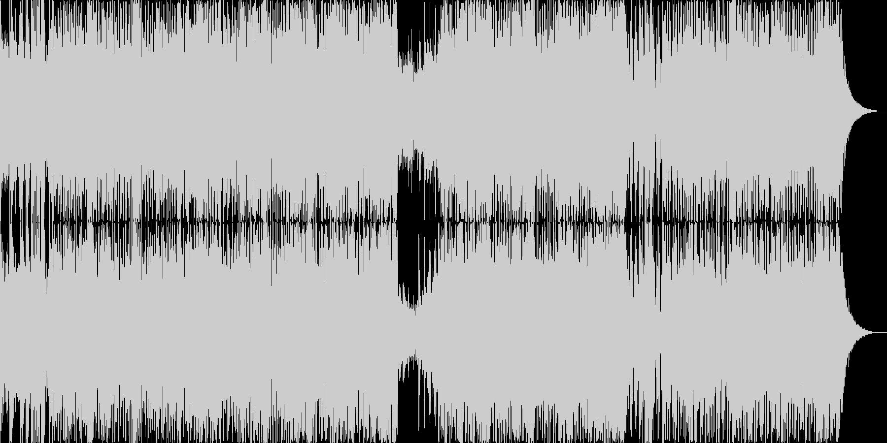 三味線の疾走感 ディープドラムンベースの未再生の波形