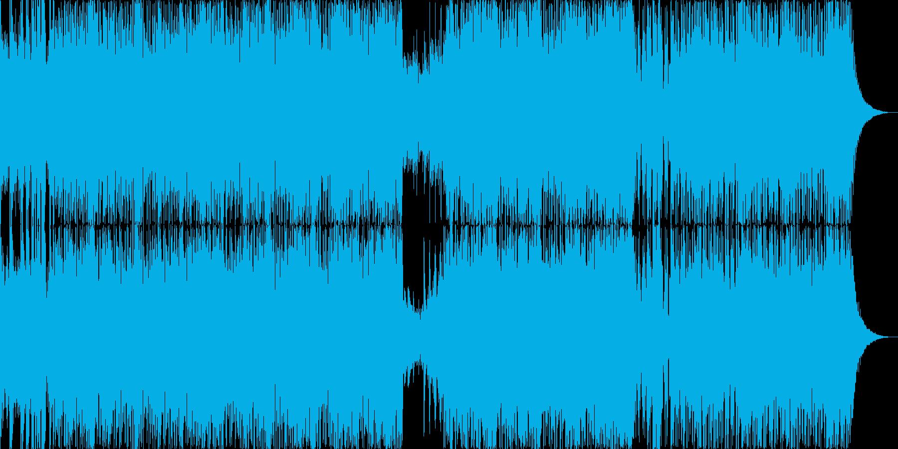 三味線の疾走感 ディープドラムンベースの再生済みの波形