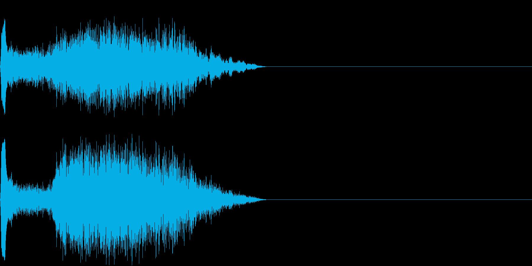 ショット_その3の再生済みの波形