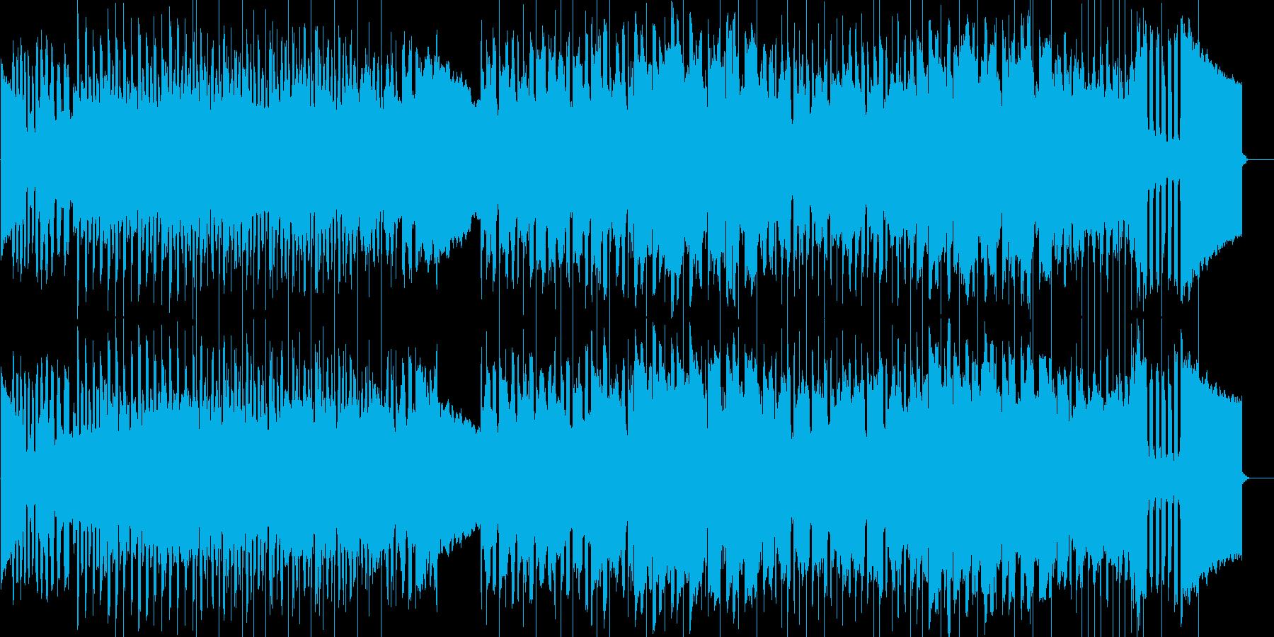クラシカルで焦燥感のあるゲーム音楽の再生済みの波形