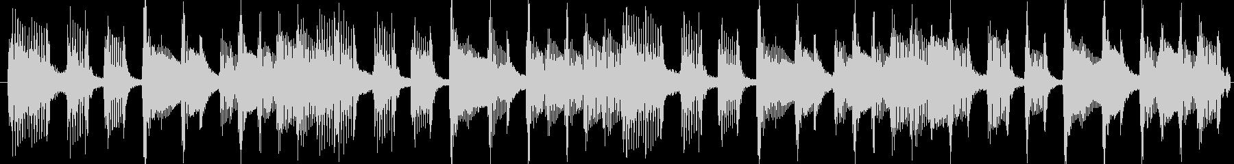 CD音圧。出囃子ピアノバイオリンの未再生の波形