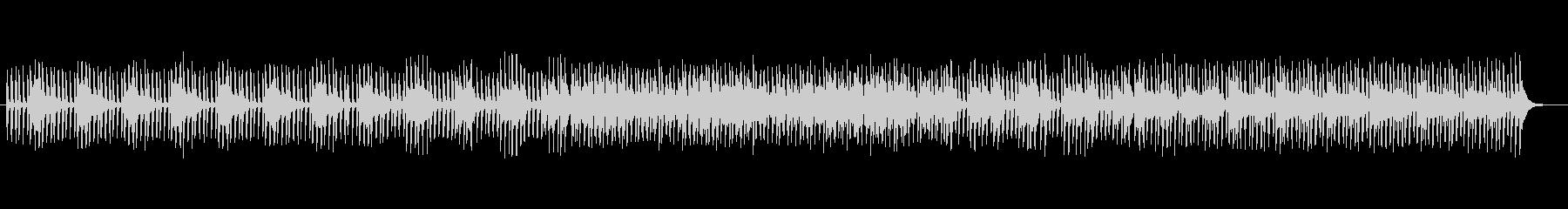 クールなテクノミュージックの未再生の波形