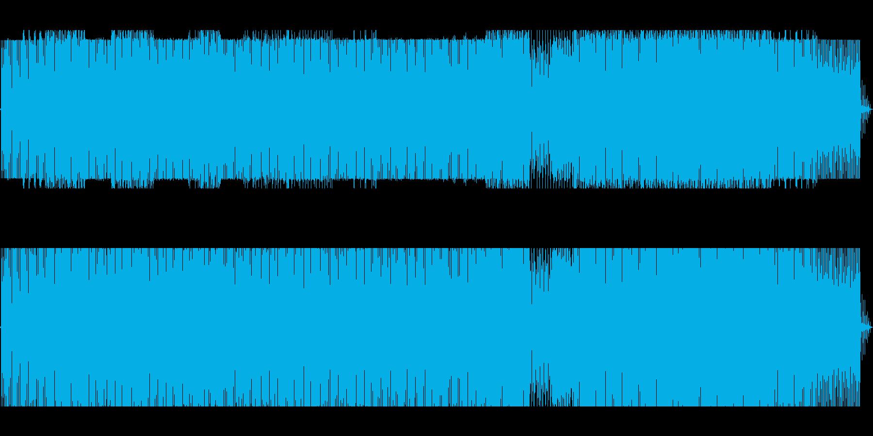 暗めの4つ打ちから後半幻想的なギターの再生済みの波形