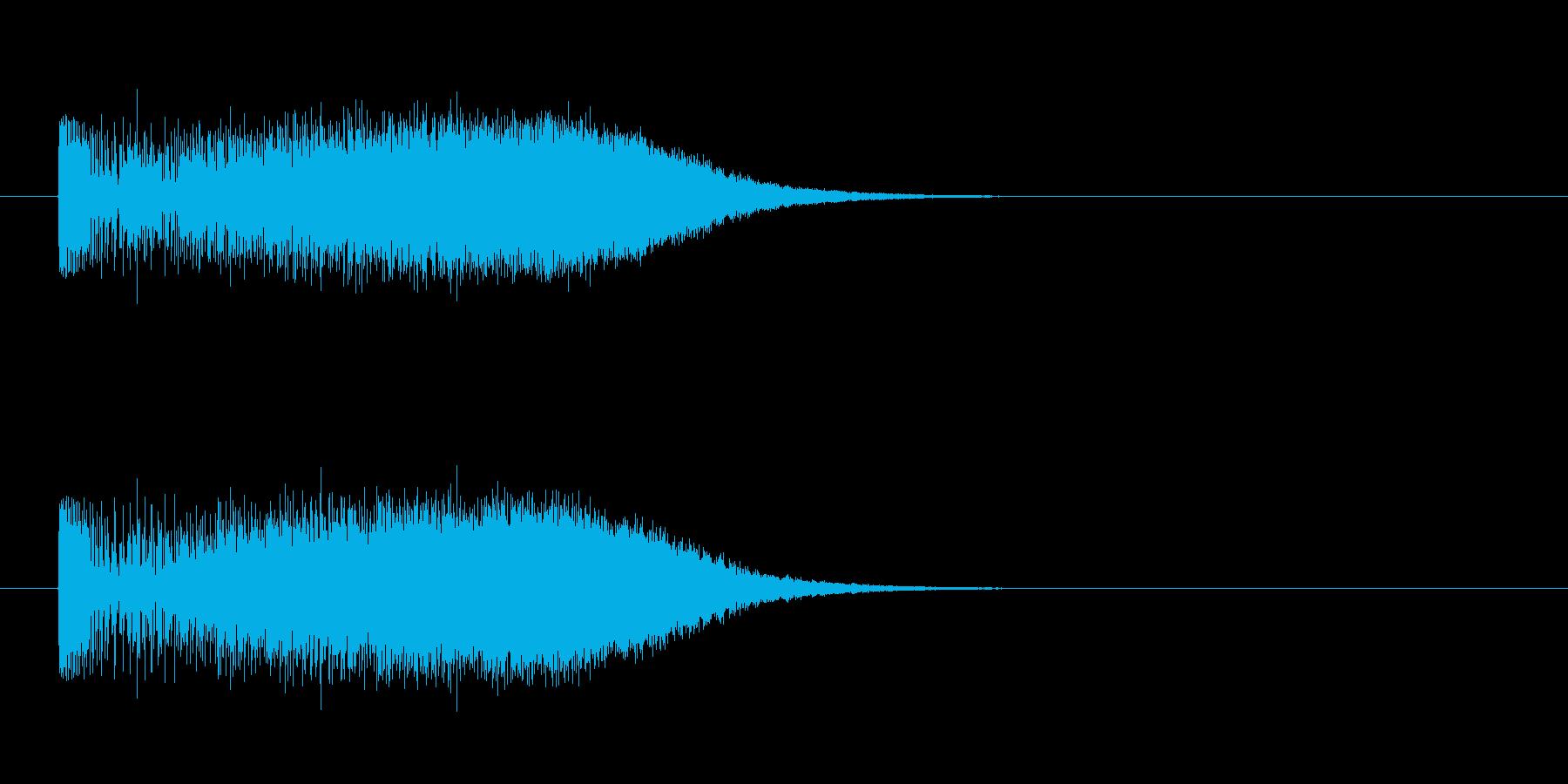 回復_復活_エネルギーチャージの再生済みの波形