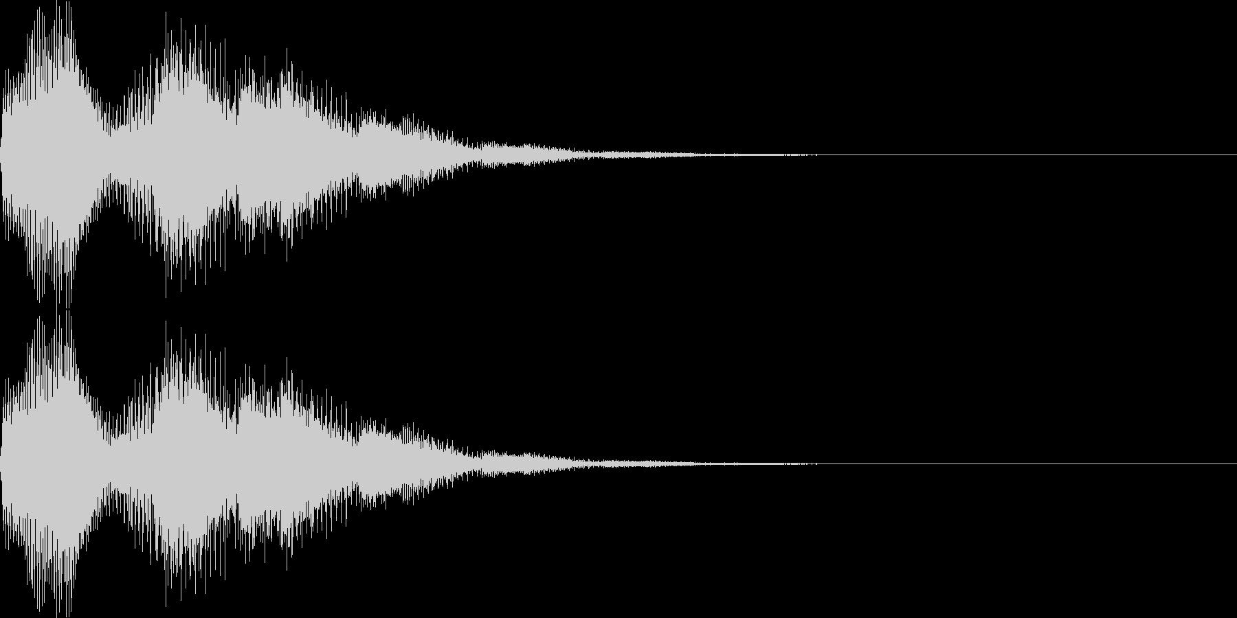 ピロロン(キャンセル、ミス、残念)の未再生の波形