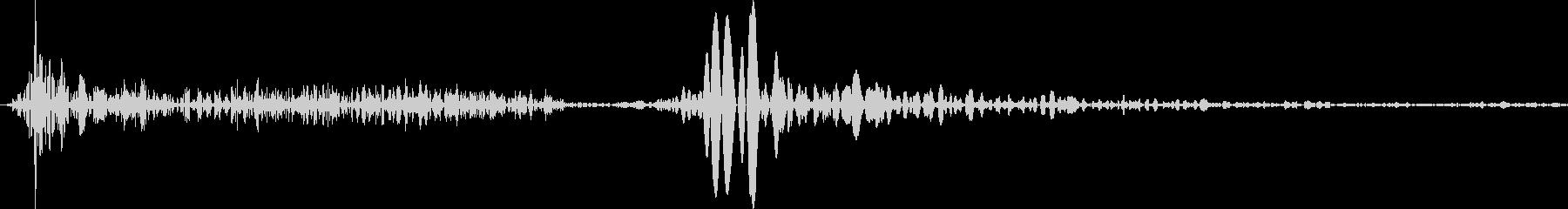 シュタッ(着地、キャンセル等の未再生の波形