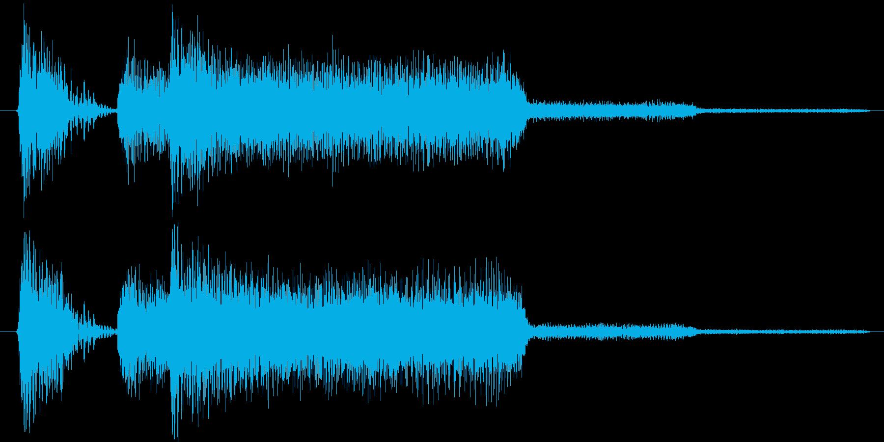 ゲーム、クイズ(正解)_004の再生済みの波形