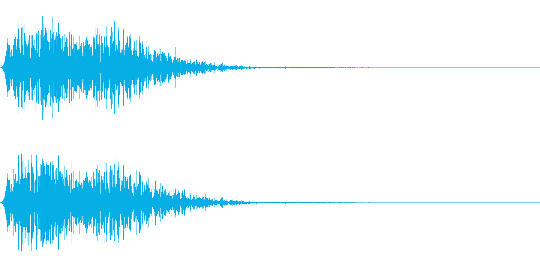 逃げる/逃走/ダッシュ/コミカルの再生済みの波形