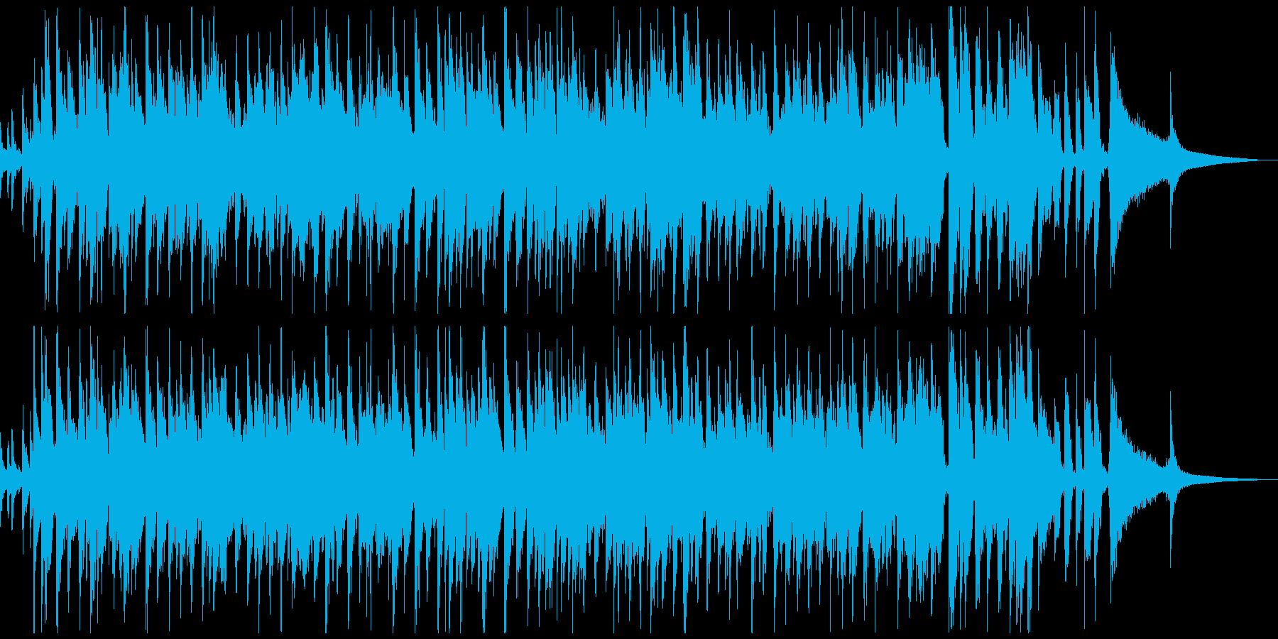 ウイスキー等洋酒系のCM風ジャズの再生済みの波形
