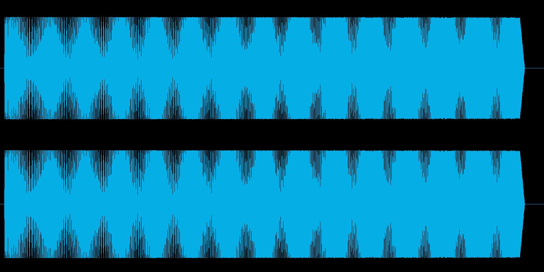 モクモク(コミカル)の再生済みの波形