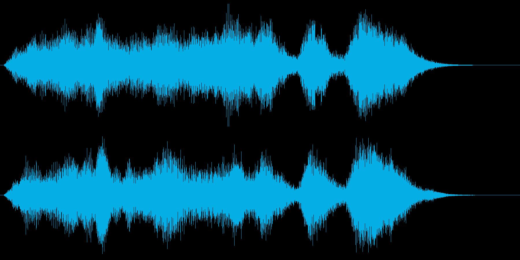ホルンとストリングスの爽やかサウンドロゴの再生済みの波形