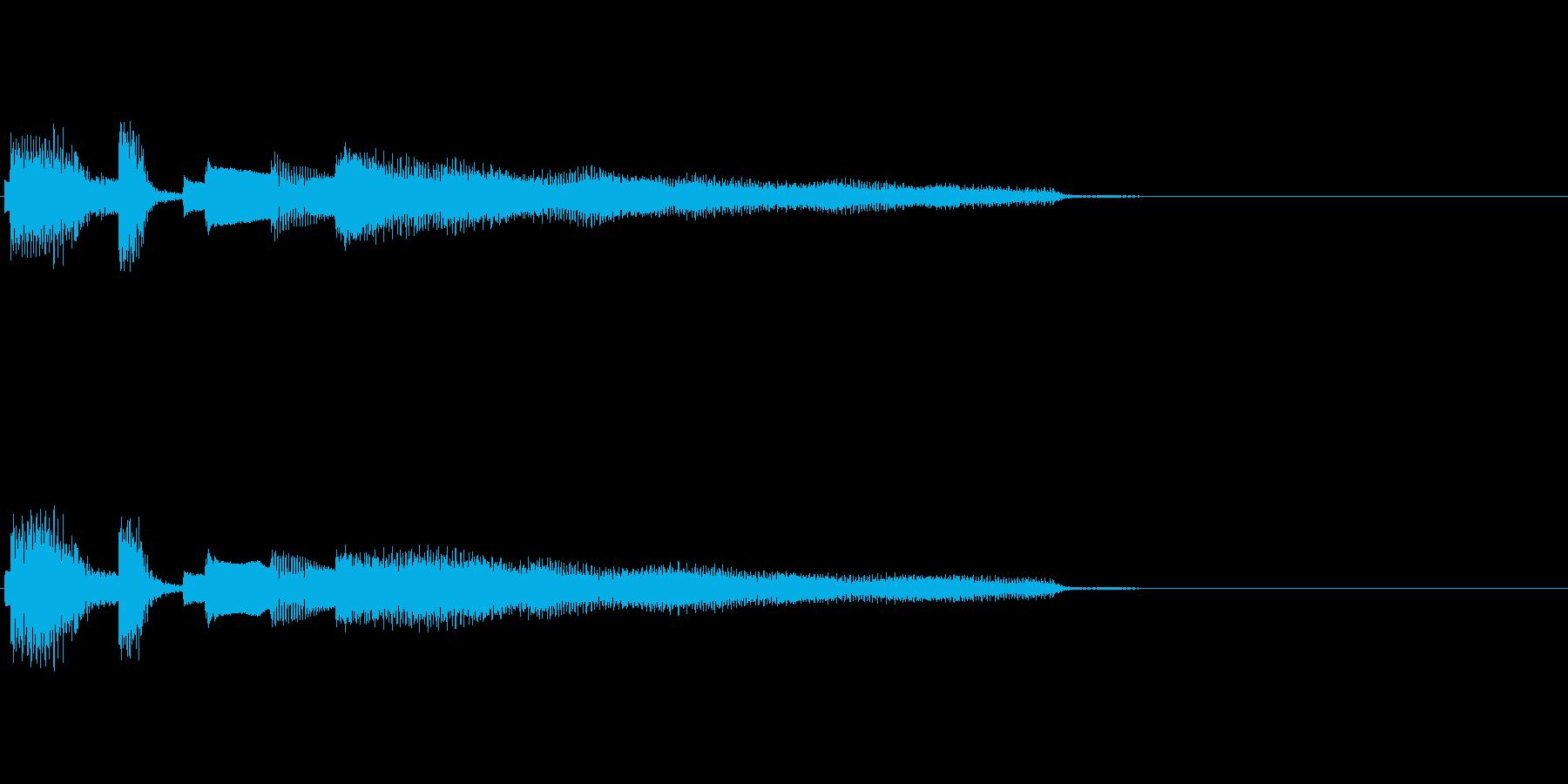 おしゃれなエレピのジングル2の再生済みの波形