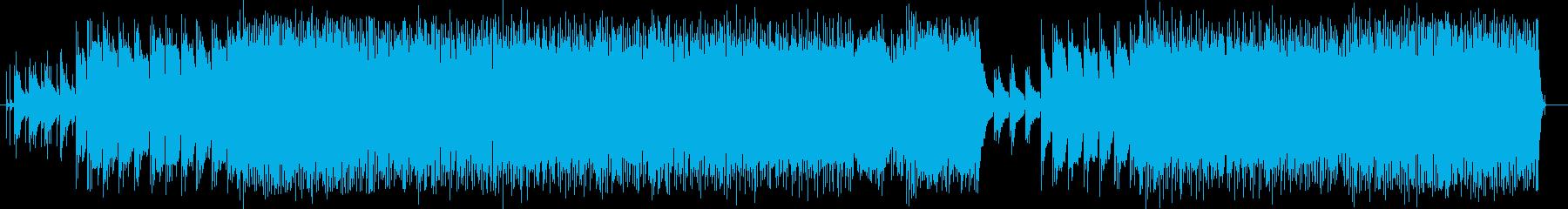 LINKIN風ミクスチャーロックの再生済みの波形