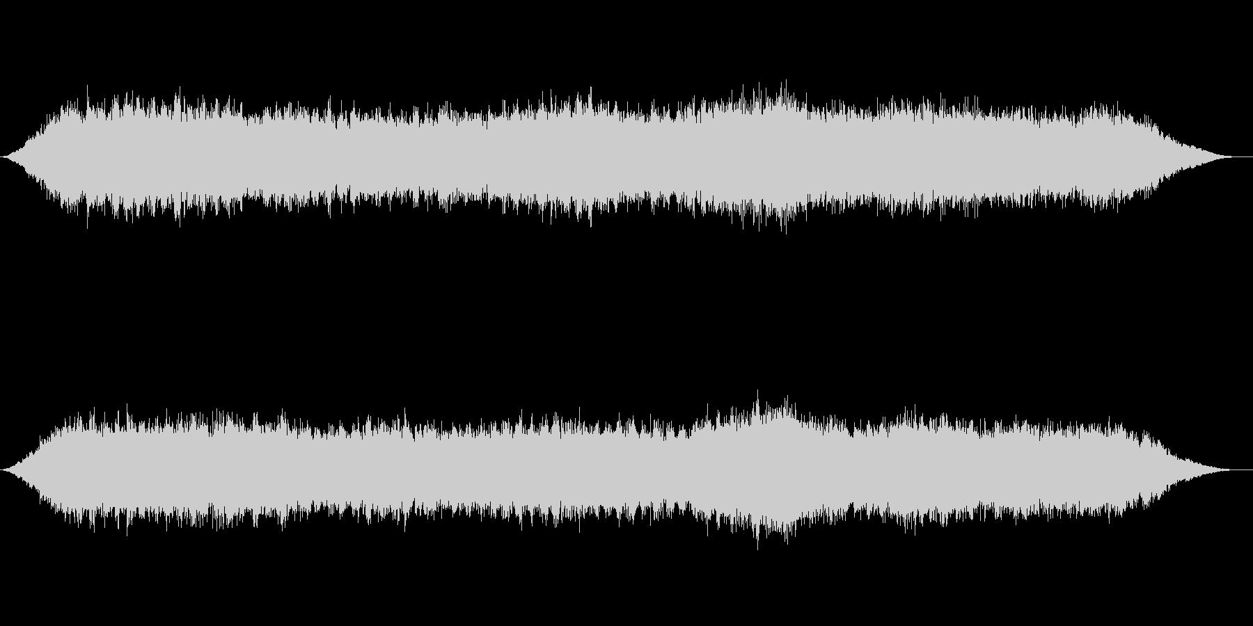 神秘的な雰囲気のアンビエント背景音10の未再生の波形